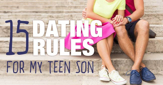 rules for dating my son on facebook