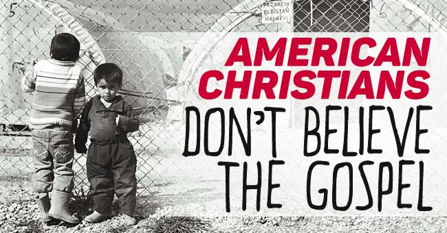 American-Christians-Dont-Believe-The-Gospel