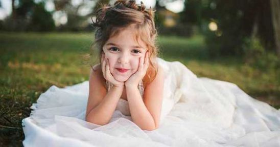 The Story Behind This 4-Year-Old's Wedding Dress Totally Wrecked Me!