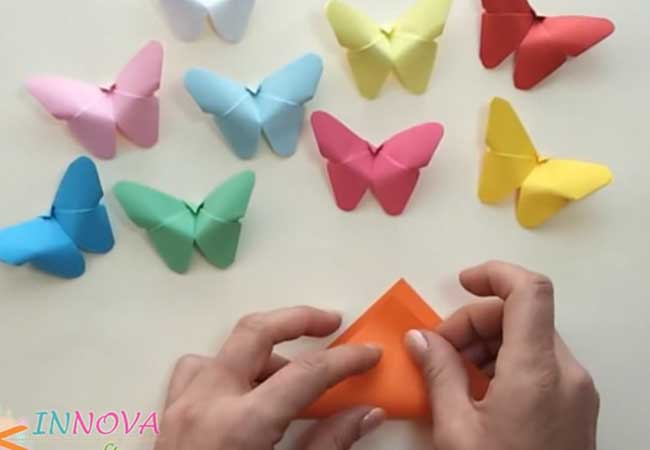 The Kids Will Love This Adorable And Easy Paper Butterfly Craft Tutorial