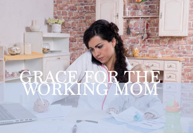 Hey Working Moms: It's Time to Give Ourselves Some Grace