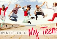 This mama's letter to her teens about the life choices they'll face—and how to make them—is a must-read for all parents. #parenting #parentingteens #family #Christianparenting #Christianmom #Christianmother #teenagers