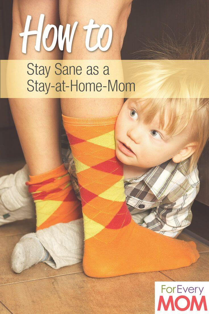 stay at home Mom pin