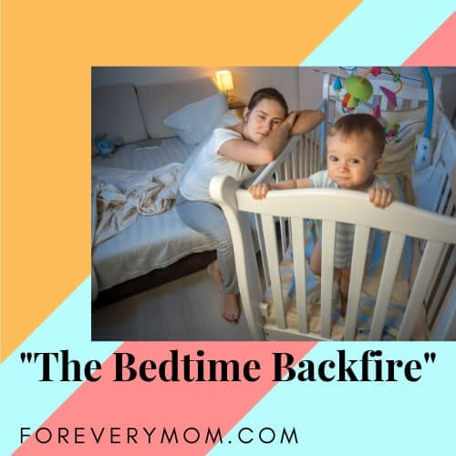 the bedtime backfire sleeping position for parents