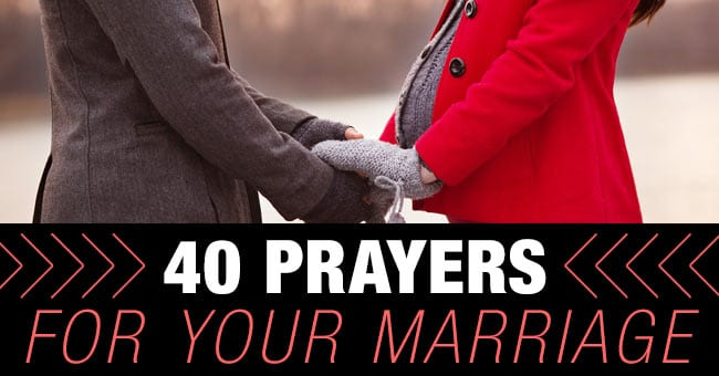 pray over your marriage