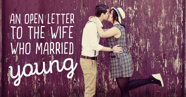 An Open Letter to the Girl Who Married Young