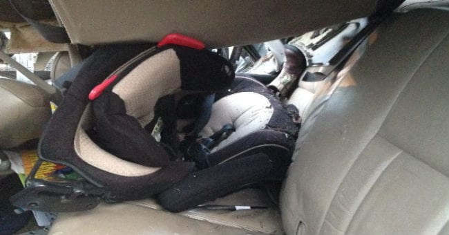 These Photos Prove That A Pricey Car Seat Is Not The Key To Keeping Your Kid Safe But This IS