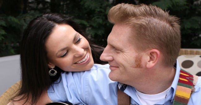 joey and rory smiles feat