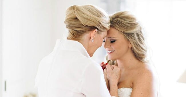 This Mamas Wedding Day Words For Her Daughter Will Take Your Breath