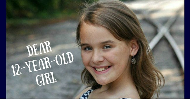 a letter to my 12 year old daughter there s no time like right now