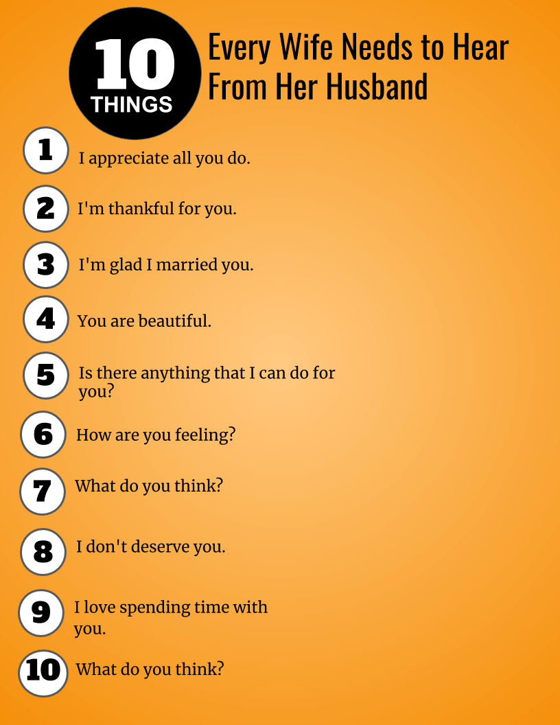 What Women Want 10 Things Every Wife Needs To Hear From -2481