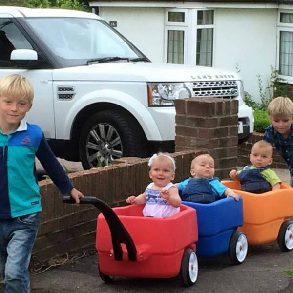 Triplet Wagon For Every Mom