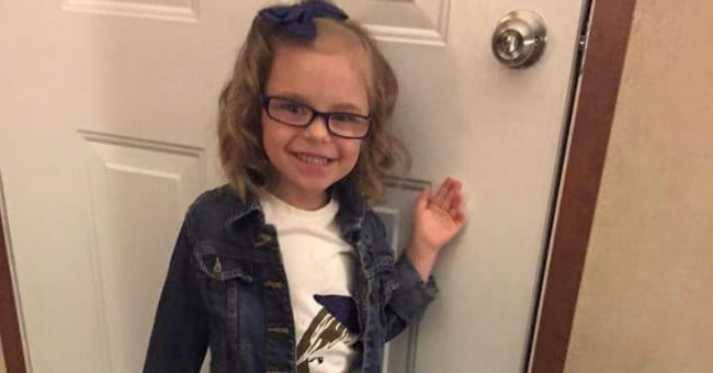 These Before and After Pics of a Girl's First Day of Preschool Are Winning the Internet