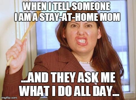 stay at home mom meme