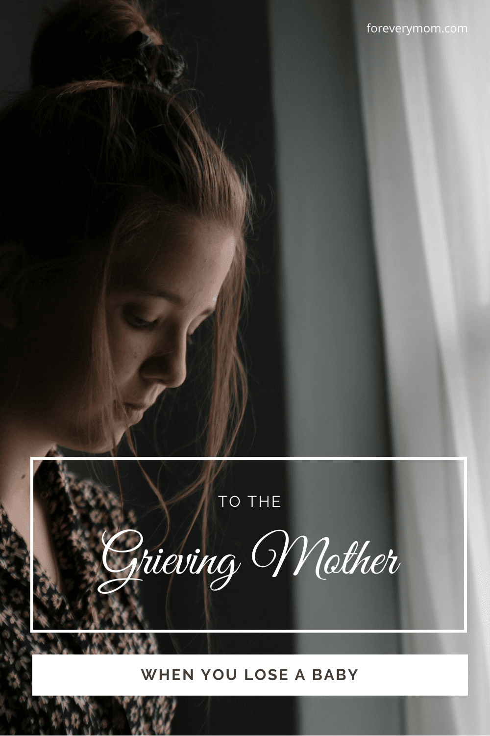 miscarriage grieving mother