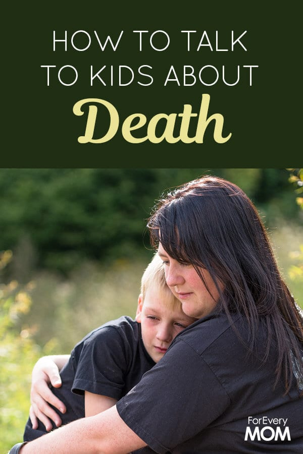 Here are 5 tips to keep in mind as you navigate the sensitive topic of death with little ones.