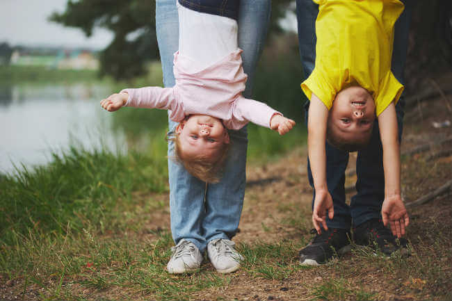 parenting upside down