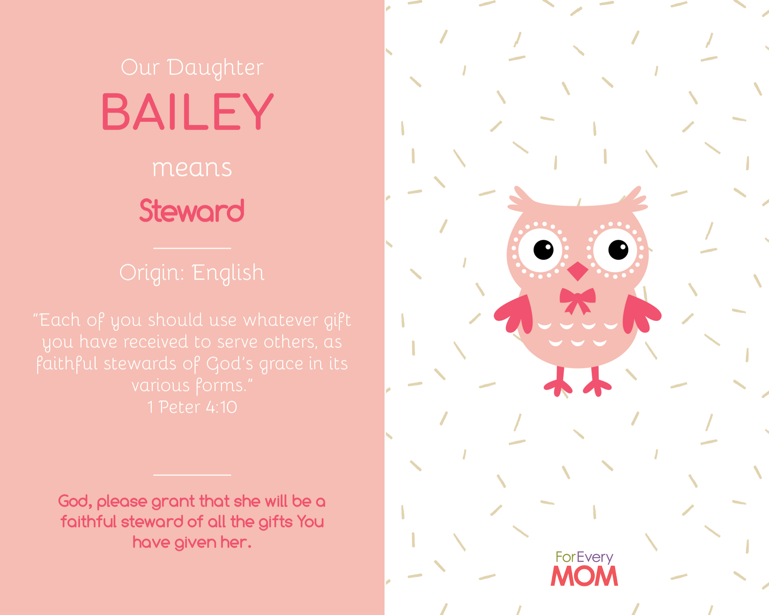baby girl names and meanings Bailey
