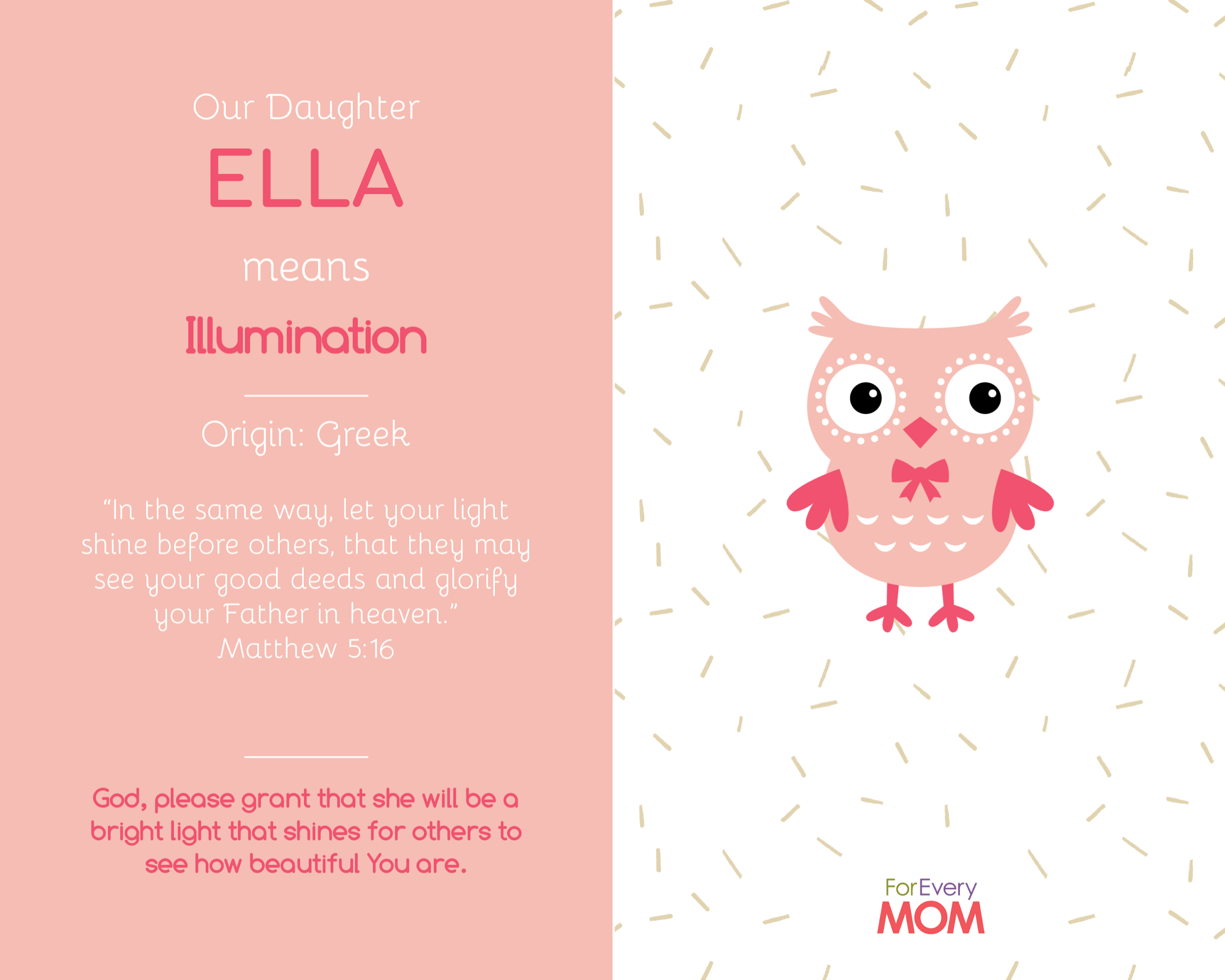 Ella baby girl names
