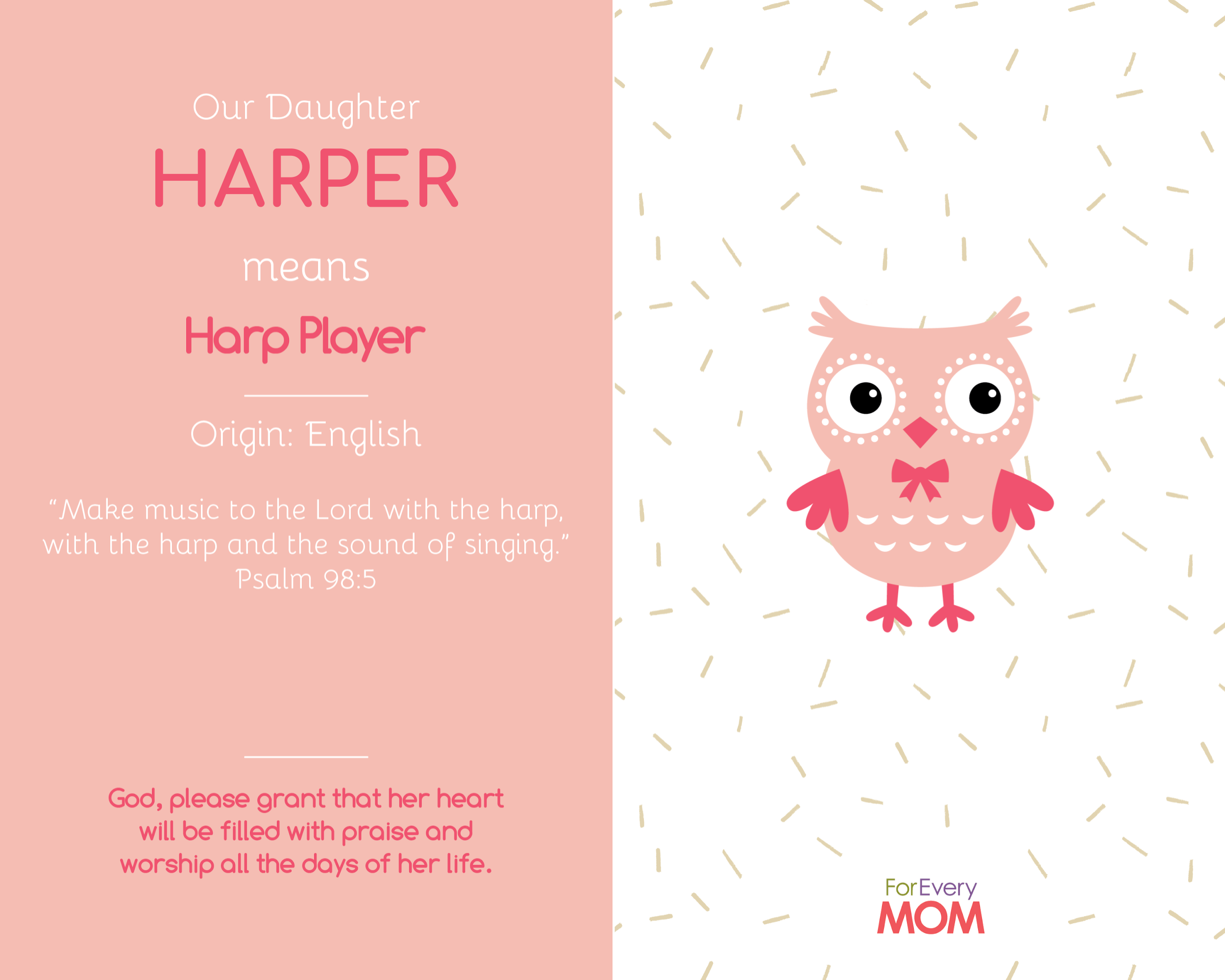 Harper baby girl names