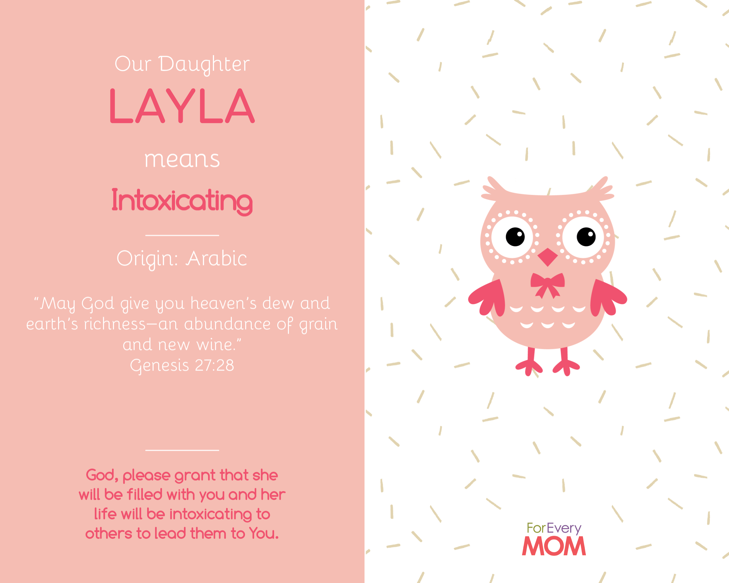baby girl names Layla