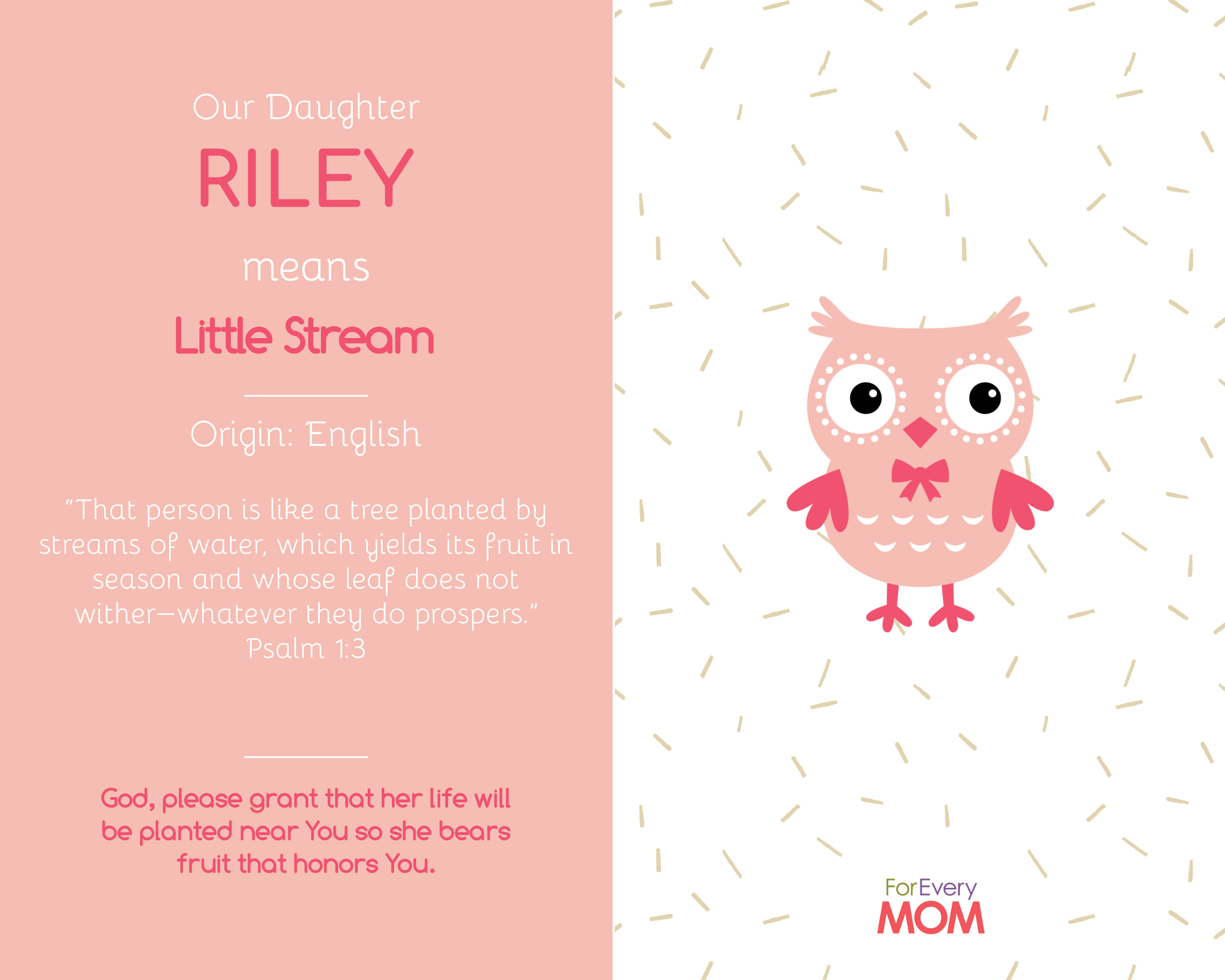 baby girl names riley