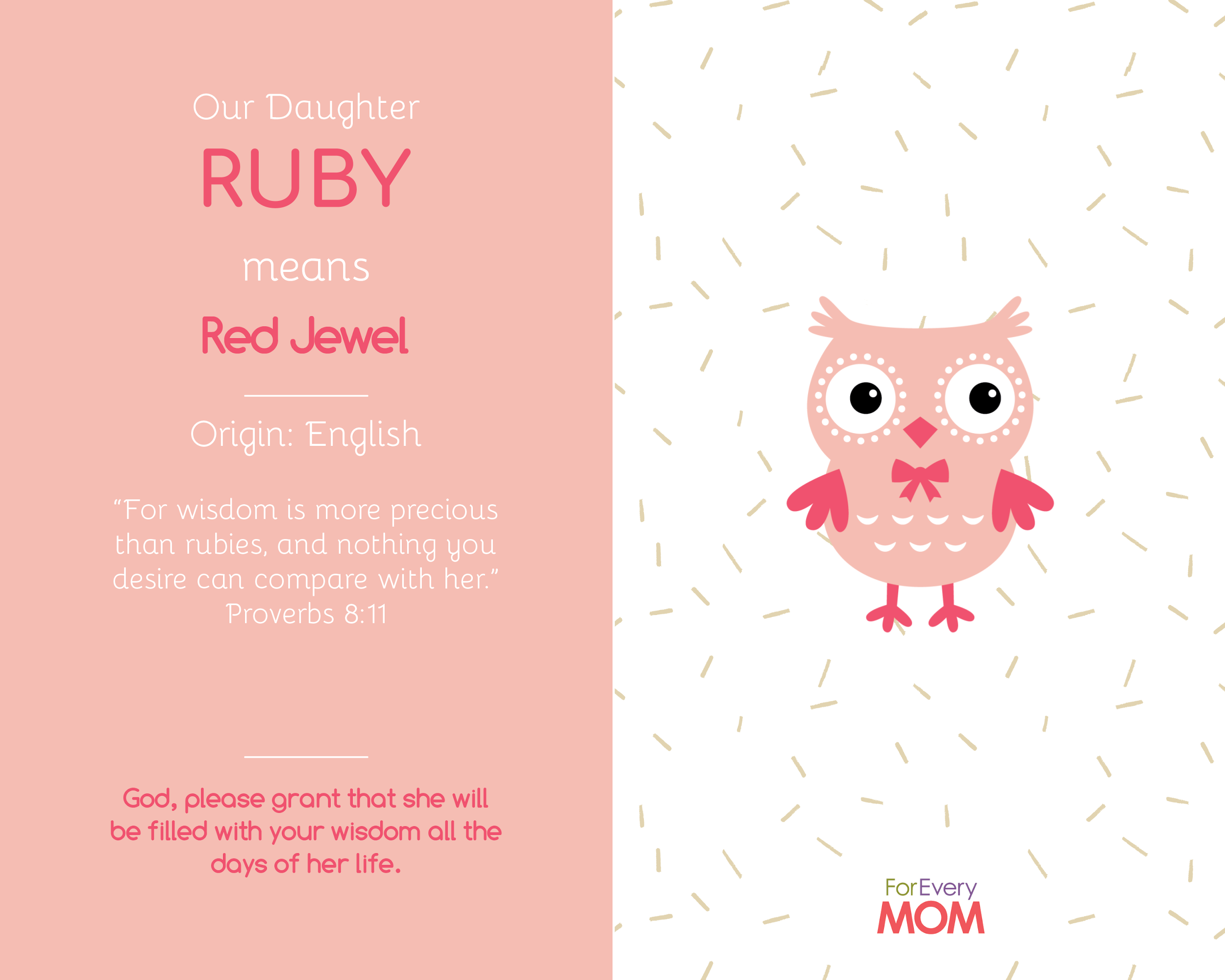 baby girl names Ruby