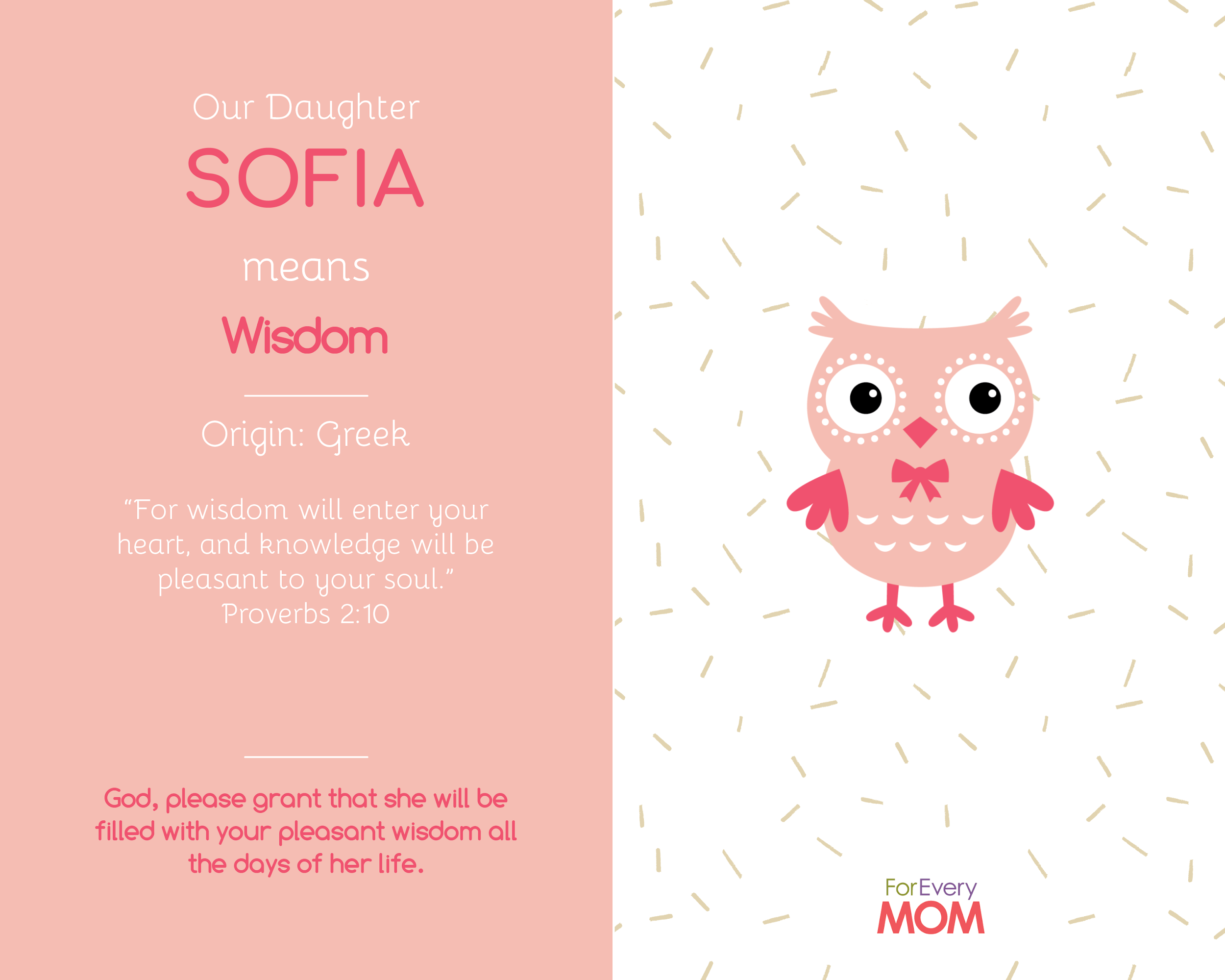 Sofia baby girl names
