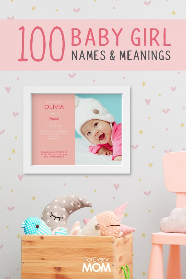 100 Baby Girl Names and Meanings, Scripture and Prayers [Plus FREE ...