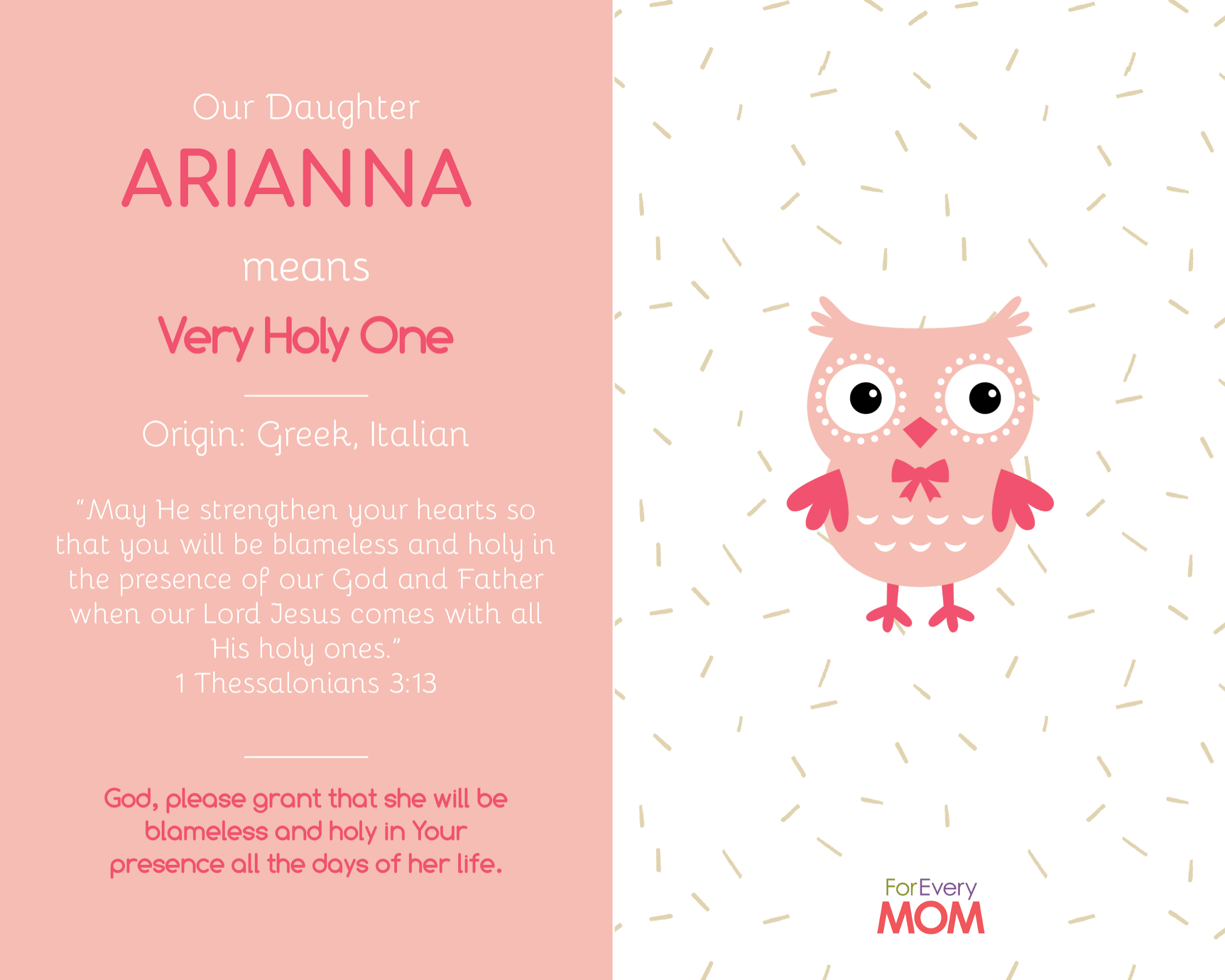 baby girl names Arianna