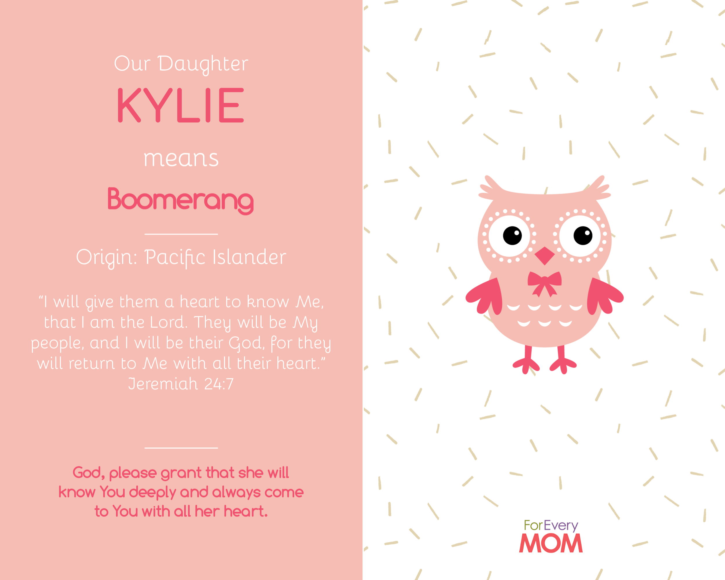 baby girl names Kylie