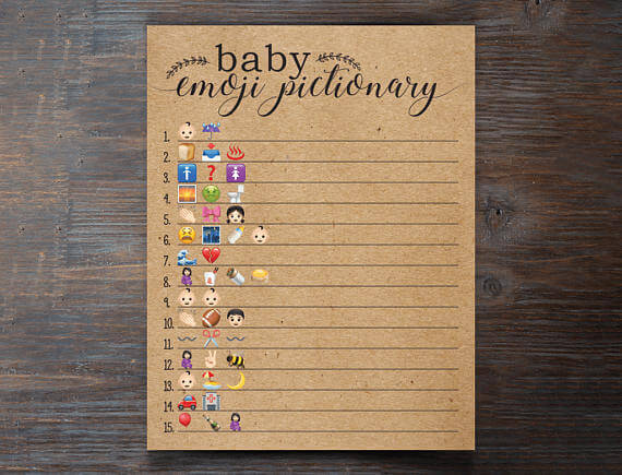 21 Easiest Baby Shower Games For Large Groups Page 2 Of 2 For