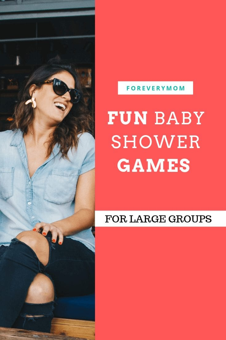 baby shower games for large groups