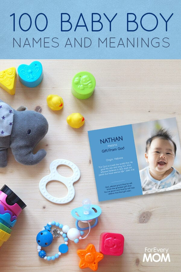 100 Cute Baby Boy Names With Meanings And Scripture