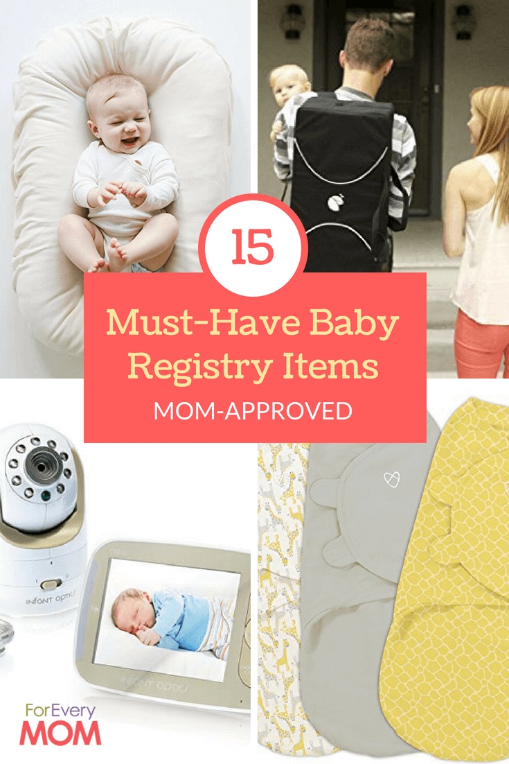 These MUST HAVE baby registry items are all mom-approved!