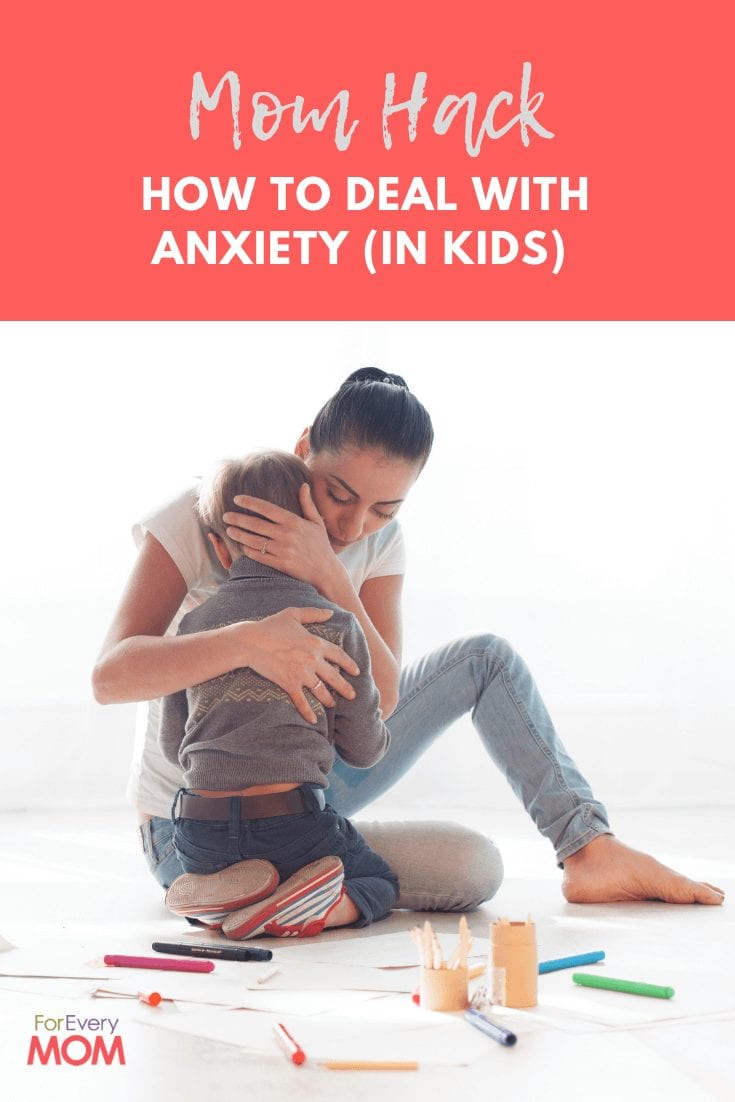 Anxiety in your kids can be a serious stressor for parents as well. Here's a brilliant mom hack to help your kids overcome anxiety.