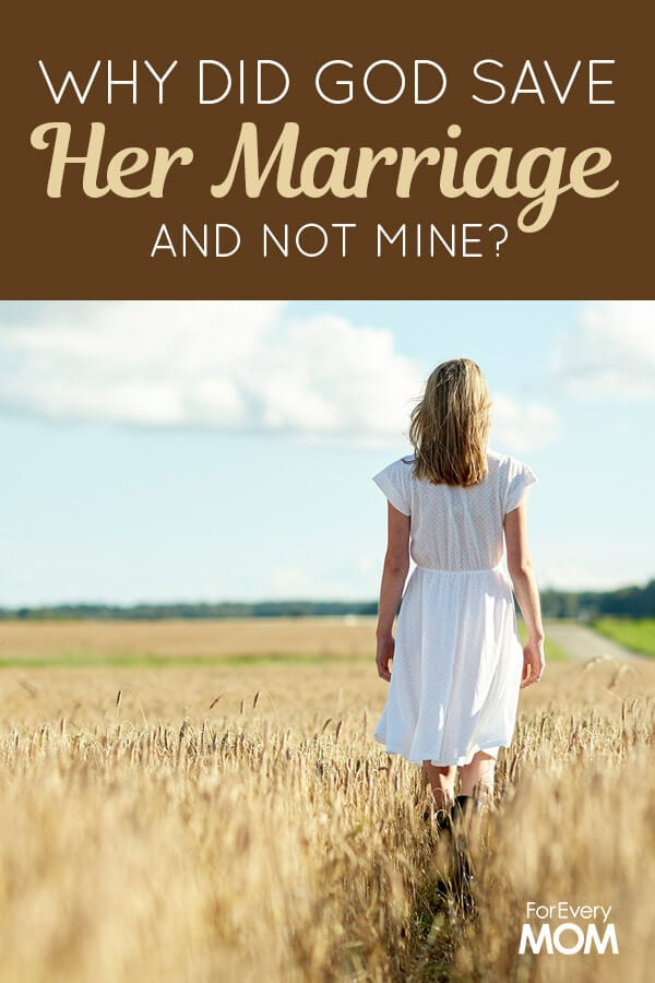 Hugs and prayers to each man and woman pursuing a restored marriage and each onewho has had to learn again how to go on when marriage ends.