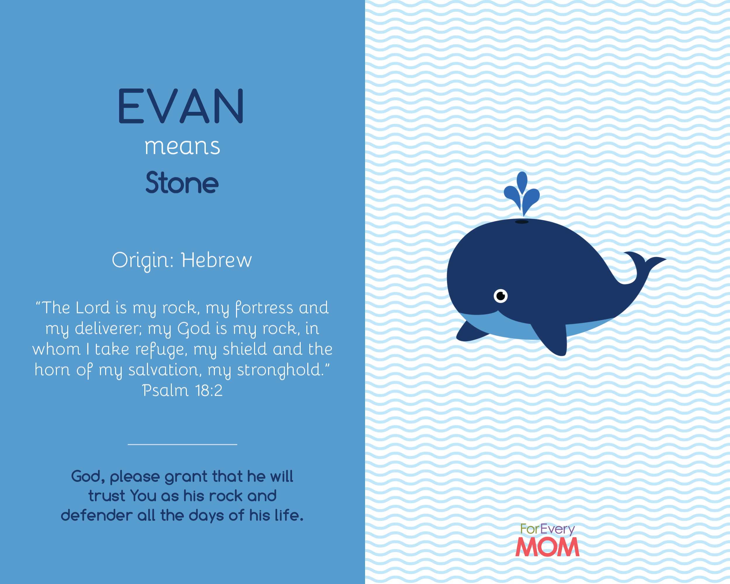 baby boy name Evan