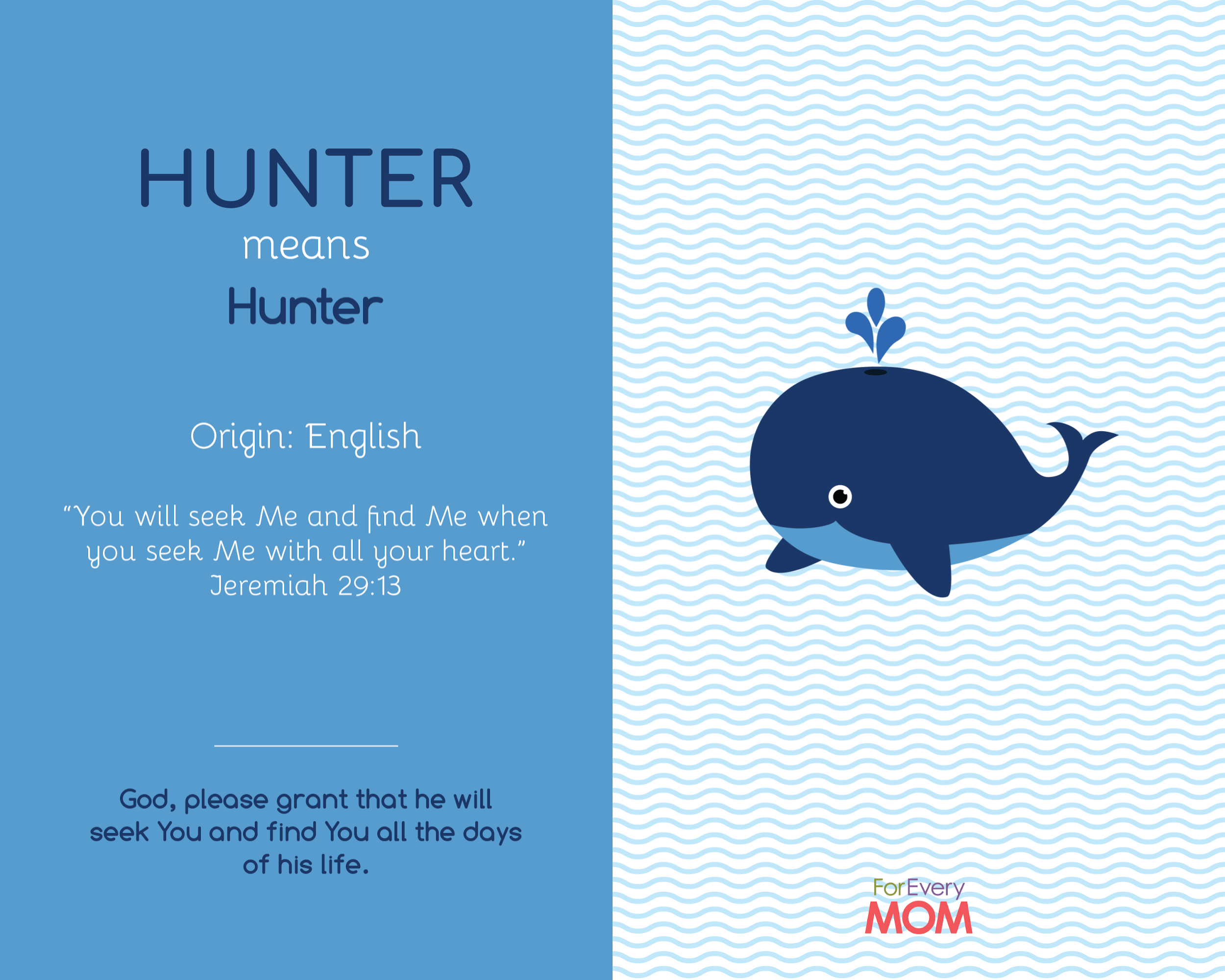 baby boy name Hunter