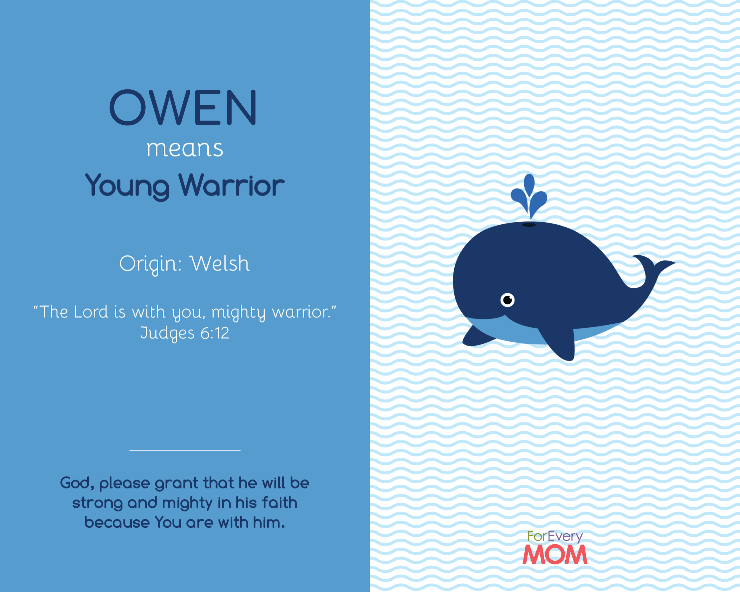 baby boy name Owen