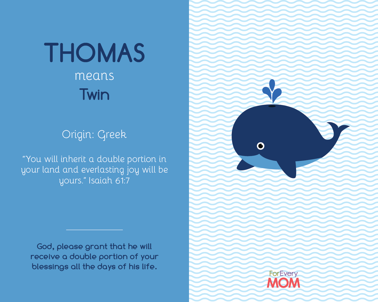 baby boy name Thomas