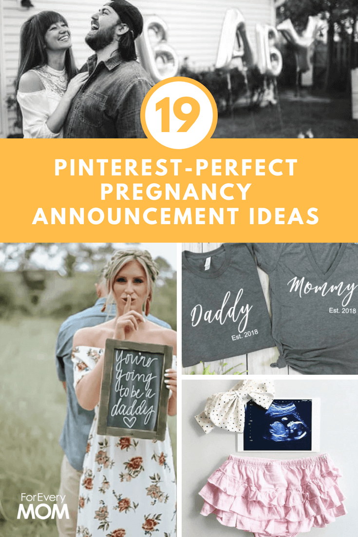 19 pinterest perfect pregnancy announcement ideas to share the good news