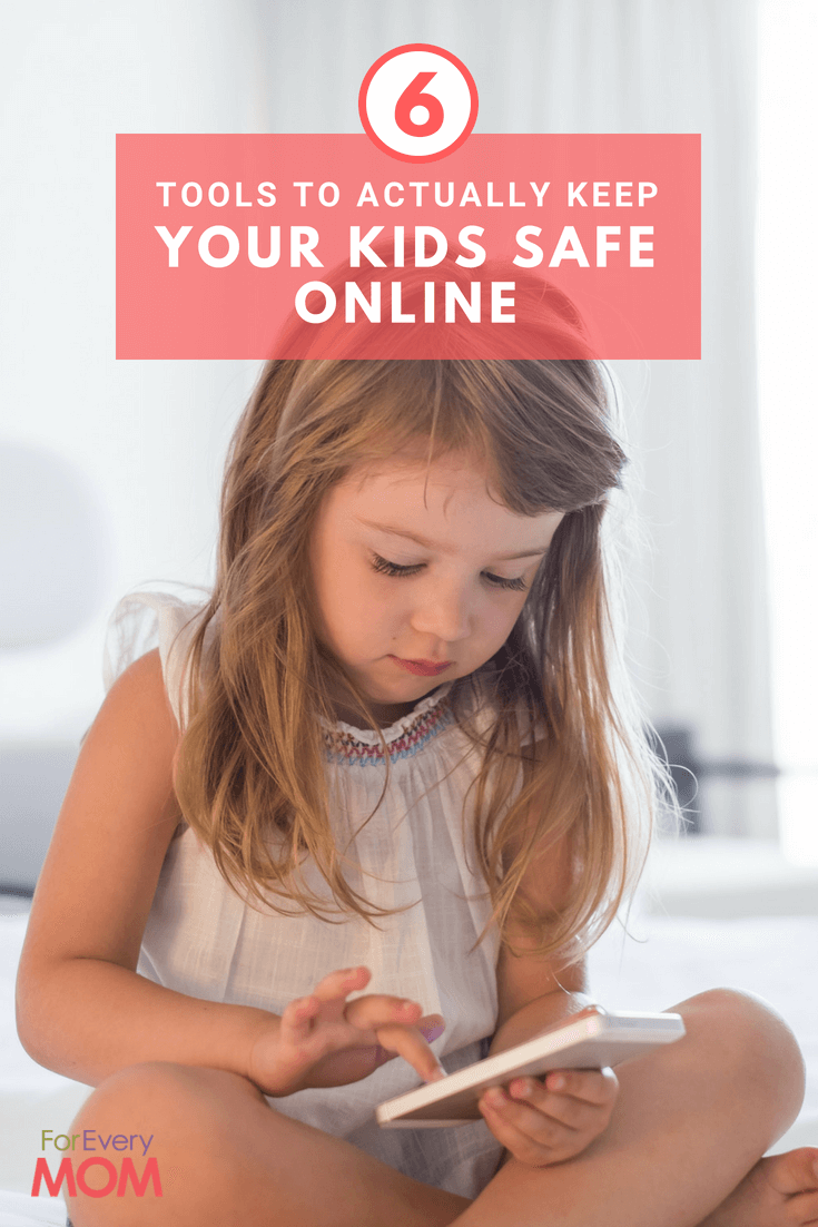 Here are 6 Tools to Actually Keep Your Kids Safe Online!