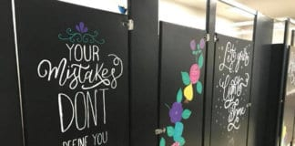 paint school bathrooms