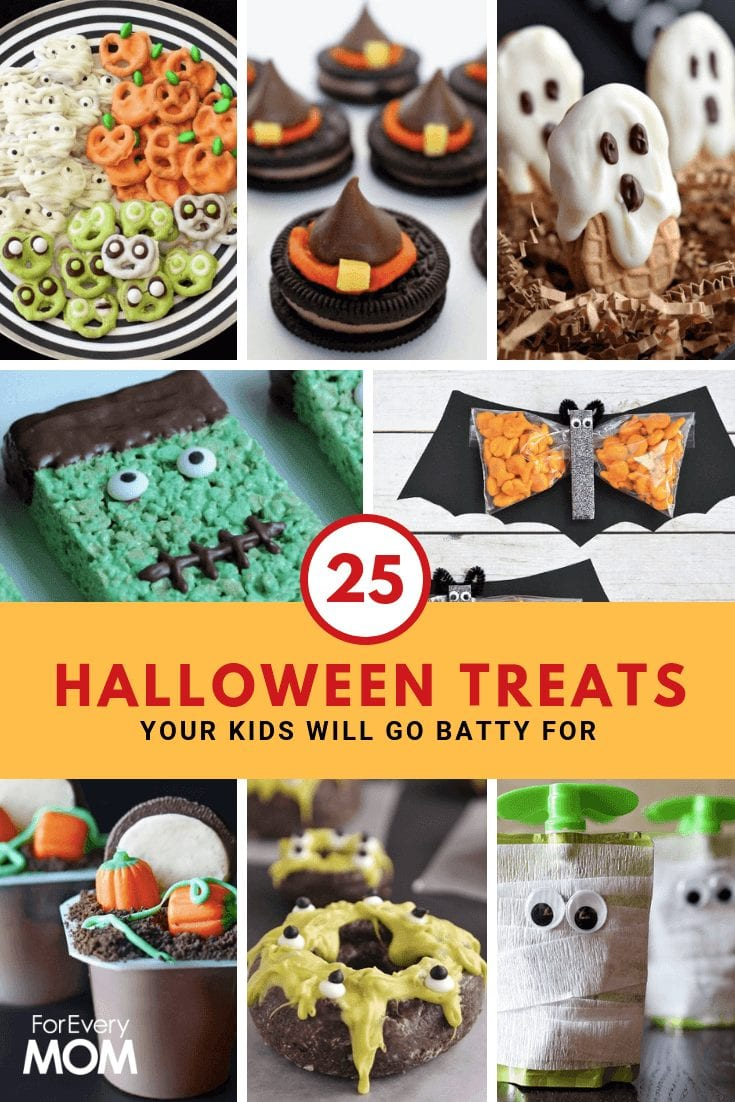 What I love most about these Halloween Treats ideas is that they are easy! And so creative!
