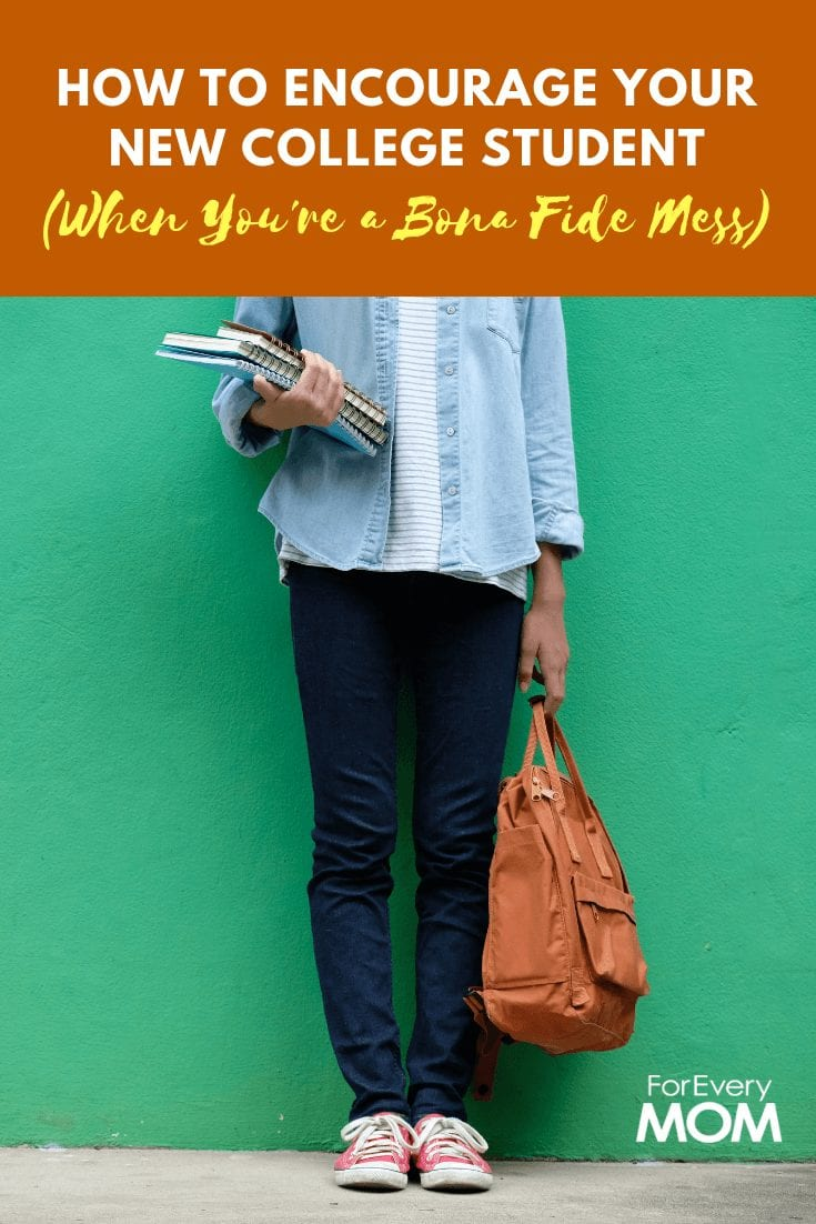 How to encourage your new college student during their first steps into independent adulthood!