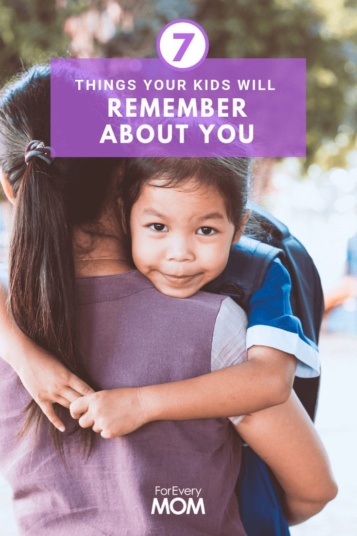 As parents, we tend to stress about things that don't matter all that much. Here are 7 things your kids will remember about you and one isn't money.