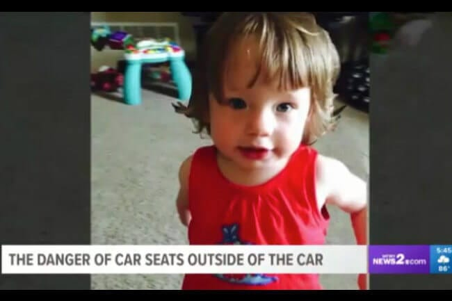 Many Parents Dont Know That Its Dangerous For A Child To Sleep In Car Seat
