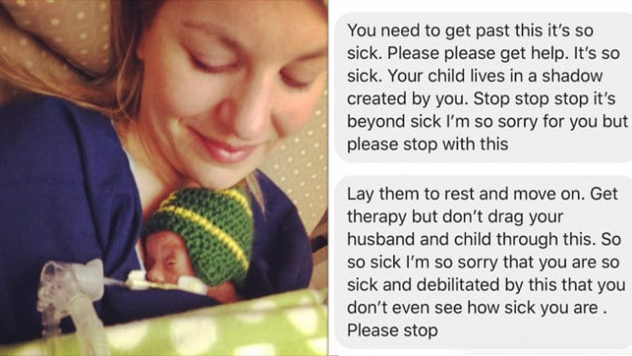 Please Stop Telling Me Your Child Is >> To The Woman Who Called Me Sick For Talking About My Children Who Died
