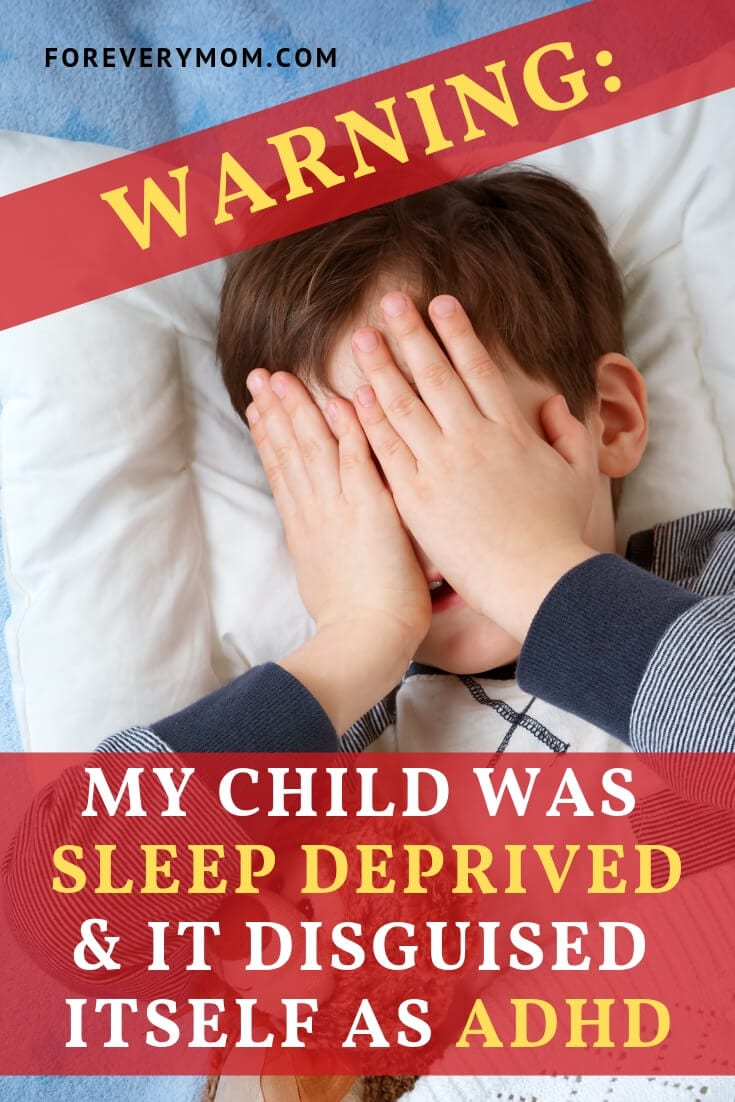 adhd and sleep deprivation